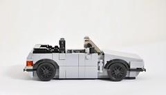 VW Golf Mk1 Cabriolet (KMP MOCs) Tags: toy toys car cars vw volkswagen golf cabriolet lego moc bricks vehicle vehicles mk1 sportscar convertible