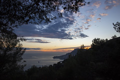 2018 winter on the Riviera [X] (Olivier So) Tags: france frenchriviera riviera sunset sky clouds roquebrune roquebrunecapmartin