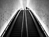 Rolltreppe_zur_Elbphi (Florian.Brandt) Tags: elbphilharmonie rolltreppe escalator hamburg schwarzweis bw street