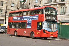 BV66 VLG (WHV159) Go-Ahead London General (hotspur_star) Tags: londontransport londonbuses londonbus londonbuses2017 wrightbus volvob5lh tfl transportforlondon hybridbus hybridtechnology busscene2017 doubledeck goaheadlondongeneral bv66vlg whv159 74