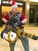 G-Anime 2018 - Heavy (Kakurady) Tags: costume cosplay ganime tf2 teamfortress2 theheavy scarf minigun hwguy heavyweapons heavyweaponsguy red reliableexcavationanddemolition bombonomicon gatineau quebec canada