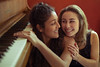 Sisters (Nina Fourquet) Tags: sisters women portrait girls woman girl happiness love mood atmosphere sweet soft music piano canon canon6d 6d colors naturallight people emotion feeling