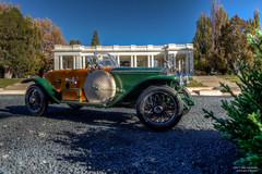 They see me Boatin' and Rollsin' (Ken Hendricks and Larry Patchett) Tags: franklinmint 1914 rollsroyce silverghost boattail chetatkins lespaul 124scale diecast model car
