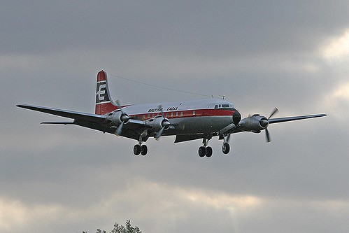 British Eagle G-APSA DC6 CVT(6)