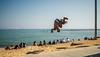 Things to do on the beach-2 (dACE :)) Tags: 28mm barcelona f2 fotodiox gent gente jump people platja salt salto sigma catalunya españa es barceloneta