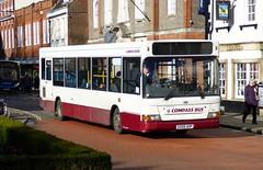 Compass Bus 1001 (GX05 AOP) Chichester 15/2/18 (jmupton2000) Tags: gx05aop transbus plaxton pointer dennis dart slf compass bus travel worthing sussex