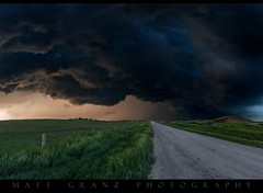 Dark Skies (Matt Granz Photography) Tags: storm stormy storming clouds cloudy supercell lowering instability weather kansas chasing chaser mattgranzphotography nikon