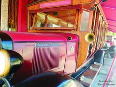 Gigante (Janos Graber) Tags: detalhe gigante bus busz autobus vermelho leme riodejaneiro chevrolet