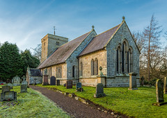Breamish Valley Northumberland 7-1-2018 (KS Railway Gallery) Tags: st michaels church ingram breamish valley norman