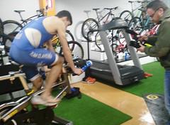 Richi Clavería triatlón Indoor team clavería triatlón World 3