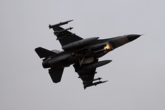 E-006  DSC_5107 (sauliusjulius) Tags: e006 fokker f16am f16 l256 built 1988 e017 6f53 daf royal danish air force bap baltic policing quick reaction alert qra lithuania siauliai sqq eysa