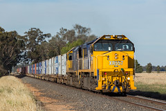 2017-12-11 Pacific National XR557-XR555 Arcadia 9306 (deanoj305) Tags: arcadia victoria australia au xr557 xr555 pacific national container train goulburn valley vic 9306
