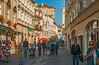 Untere Landstrasse (fotofrysk) Tags: unterelandstrasse krems street tourists buildings architectureeasterneuropetrip melkkremscruise austria oesterreich sigma1750mmf28exdcoxhsm nikond7100 201709288952