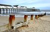 Southwold Pier. (johncheckley) Tags: d90 pier coast sea sand beach groyne