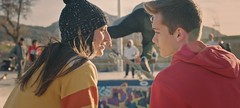 Marseille 2018 (Toskian) Tags: marseille2018 marseille young youth love color colors pop skate skatepark jump kiss firstkiss mp2018 red yellow street urban streetwear fashion beauty portrait retro vintage streetart