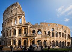 Colosseum, Rome, Italy (Lars Rollberg) Tags: colosseum italy rome rom roma italien building architecture icon worldicon landmark historic