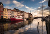 Nyhavn 3 (toniertl) Tags: copenhagen2017 denmark toniphotoxoncouk darksky houses bright colourful clouds reflections ships boats waterway canal nyhavn