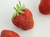 Strawberries (carlosfx3d) Tags: strawberry isolated background white food strawberries red fresh fruit ripe juicy closeup healthy macro cut freshness organic berry berries beautiful fruits green whole object leaf