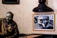 Un Daiquiri (jemanja) Tags: statua haming hemingway daiquiri floridita cuba lahavana bar