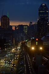 Queens Blvd Viaduct (CrispyBassist) Tags: railroad railway train track transit subway nyc nyct nycta newyorkcity newyork newyorkcitysubway newyorkcitytransit flushingline irt queens sunset