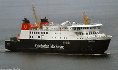 Scotland Greenock in rain the car ferry Finlaggan arriving at the ship repair dock 7 February 2018 by Anne MacKay (Anne MacKay images of interest & wonder) Tags: scotland greenock caledonian macbrayne calmac car ferry finlaggan ship sea xs1 7 february 2018 picture by anne mackay