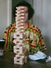 Uku. (PeeterTomson) Tags: portrait teaparty music jenga guitar djembe africa reggae hippie fujifilm xa1 olympus 50mm vintage winter tallinn estonia