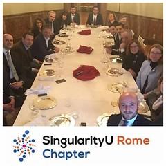 SingularityU Rome Chapter - Dinner (5)