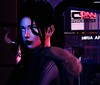 Neon Valley Streets (Morgana Ninetails (Chaneedawn)) Tags: cocoonslsim cocoonrp cyberpunk cyborg android neurolabinc slphotography slfashion slroleplay slphotoshop vistabento maitreya catwa letre letreskin cerberusxing truthhair kibitzjewelry secondlife