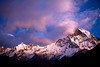 Mount Machapuchare (Fishtail) at sunset (Zzvet) Tags: active adventure altitude annapurna asia background basecamp blue climbing clouds colorful dramatic environment fishtail glacier heaven height hiking hill himal himalaya journey landscape machapuchare machhaphuchhare mountain mountaineering nationalpark nature nepal outdoor pass peak picturesque purple rock scenery season sky summit sunrise sunset tourism travel trekking trip vacation view vista wallpaper