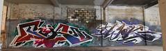 Tika / Wok by Bacon (cutstitch) Tags: montanablack paintingprogress kobralow stylewriting graffiti torontograffiti wildstyle