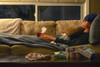 Biohazard (flashfix) Tags: february202018 2018inphotos ottawa ontario canada nikond7100 40mm nikon flashfix flashfixphotography portrait man male sick couch icepack kleenex tissue blanket medicine sickie