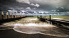 Storm front - St Leonards Boat Ramp (Chas56) Tags: pier jetty boatramp beach waves storm canon clouds movement longexposure nd ndfilter canon5dmkiii