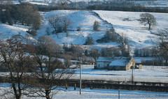 Winter View (barrowfordian (Martin)) Tags: ribchester ribblevalley winterscene snow