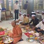 20171019 - Chopda poojan in Swaminarayan Mandir (3)