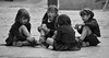 les fillettes (aude40) Tags: enfant fille girl noiretblanc jeu nikon d7000 game rue street blackandwhite city