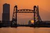 Sunset at de Hef (Rob Schop) Tags: rotterdam zonsondergang sunset sun sonya6000 maas maasboulevard brug outdoor a6000 city dehef orange