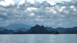 Clouds over Ko Tao