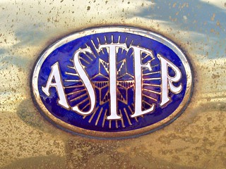 241 Aster (automobiles) (GB) Badge - History