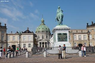 Plaza Amalienborg - Copenhague