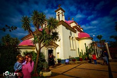 A vie en rose (tchia sheffer) Tags: greekorthodox church capernaum israel terra santa religious faith holy land christian eastern sacred pink