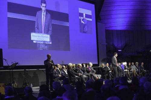 Cérémonie des vœux du Maire Jérôme Baloge et du Conseil municipal aux Niortais © Darri