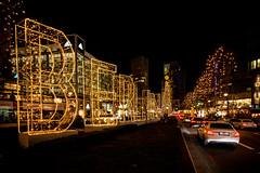 Berlin (Channed) Tags: berlijn duitsland europa europe germany christmas christmaslights street night evening city car channedimages chantalnederstigt berlin