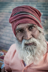 (fil_de_fer) Tags: 2016 ganga gange haridwar india indianman indianpeople
