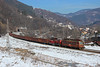 Scrap in the Mountain (Krali Mirko) Tags: bdzcargo tp freight cargo scrap train electric locomotive skoda 44013 68e3 thompson bulgaria railway transport snow бдж тп влак локомотив товарен томпсън железница българия