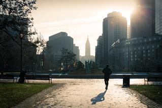 Benjamin Franklin Parkway Sunrise - Philadelphia