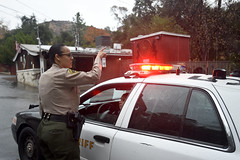 Sheriffs_MBV_04 (CEO_Countywide_Communications) Tags: patrol car lasd female deputy los angeles county sheriff department oem disaster response evacuation orders wildfire mudslide coutywide sd3 kagel canyon