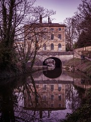 Cleveland House, Kennet and Avon Canal Bath (seanfarr) Tags: kennet avon canal bath buildings olympus outdoor omd england em10 uk unitedkingdom canals history historic heritage reflections tunnel water windows trees sky