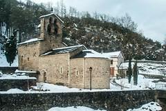 Couflens-Salau (Ariège) (PierreG_09) Tags: églisedelanativitédelavierge églisenotredamedesalau couflens salau ariège clocher église salat hautsalat rivière torrent coursdeau