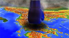 Balkan map (BalkansPhotos) Tags: balkan map fist greece albania serbia montenegro rumunia croatia bulgaria macedonia srbija crna gora mapa karta pesnica