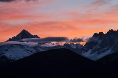 Combloux lever de soleil (Myriam Caffart) Tags: chaînedumontblanc combloux europe france hautesavoie leverdesoleil montagne paysage rhonealpes